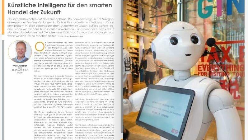 Künstliche Intelligenz für den smarten Handel der Zukunft