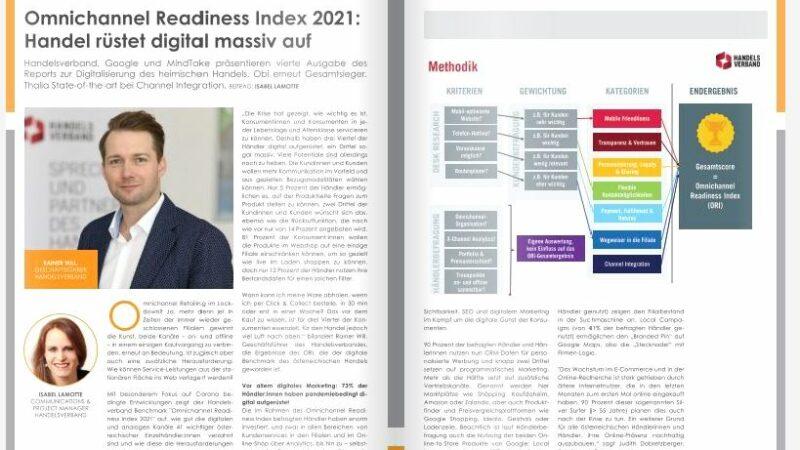 Omnichannel Readiness Index 2021: Handel rüstet digital massiv auf