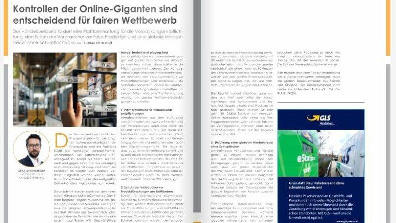 Kontrollen der Online-Giganten sind entscheidend für fairen Wettbewerb